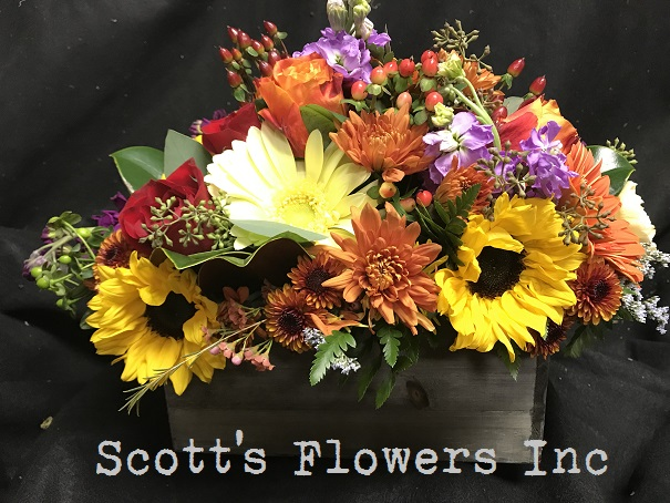 Scott's Flowers inc